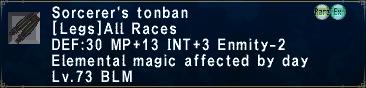 Sorcerer's Tonban
