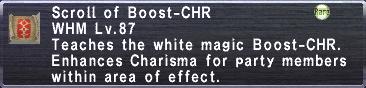 Boost-CHR