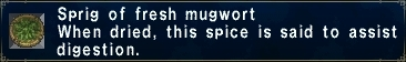 Fresh mugwort