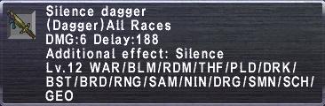 Silence Dagger