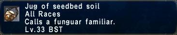 Seedbed soil