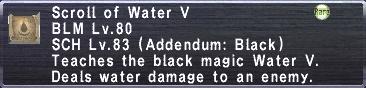 WaterV