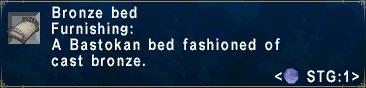 Bronze-Bed