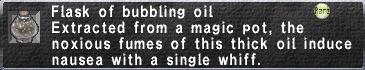 Bubbling Oil