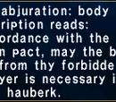 Earthen Abjuration: Body
