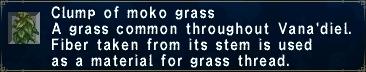 Moko grass