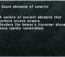 Azure Abyssite of Celerity