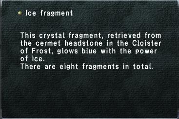 Ice Fragment