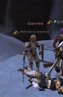 Curilla Heroine's Combat