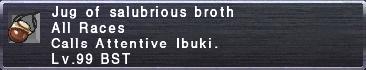 Salubrious broth