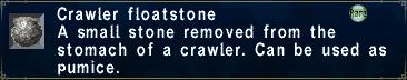 Crawler Floatstone