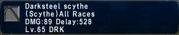 Darksteel Scythe