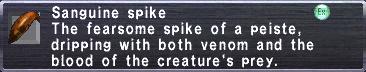 Sanguine Spike