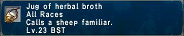 Herbal broth