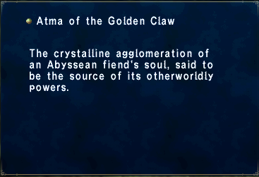 Atma of the Golden Claw