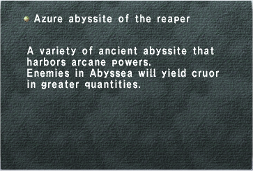 Azure Abyssite of the Reaper