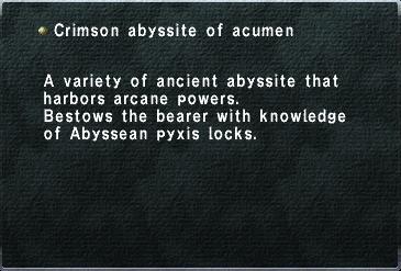 Crimson-abyssite-acumen