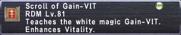 Gain-VIT