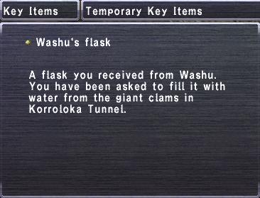 Washu's Flask