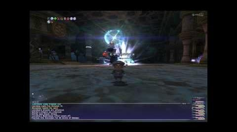 FFXI Alexander Fight (Waking the Colossus)