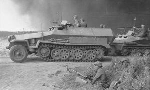 Vehicle sdkfz251 93