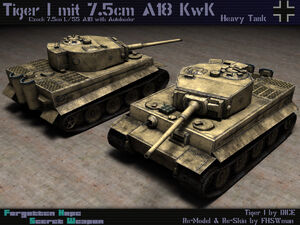 Tiger I Ausf. E L55