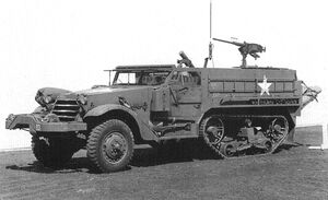 M4A1 81 mm Mortar Motor Carriage