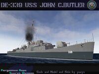 USS John C. Butler