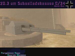 220.3 cm SK C34