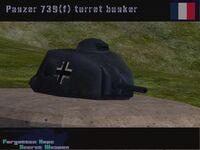 Panzer 739(f) Pillbox