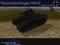Panzer 740(f)