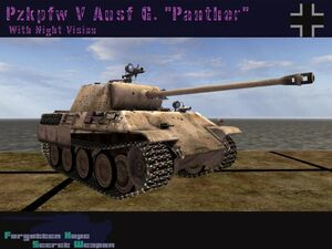 Panther Ausf. G Night