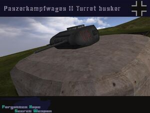 Pzkpfw II Turret