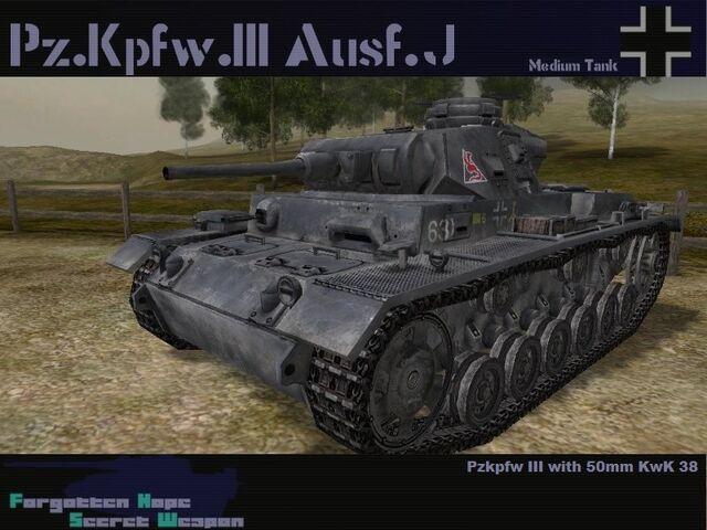 File:Pzkpfw III Ausf J.jpg