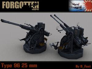 Type 96 25mm Dual
