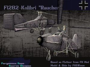 Flettner Fl 282 Raucher