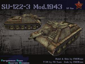 SU-122-III (1943)