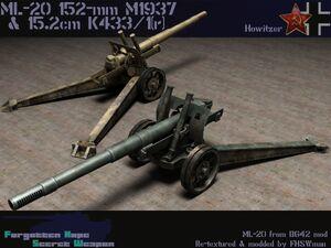 152 mm howitzer-gun M1937 (ML-20)