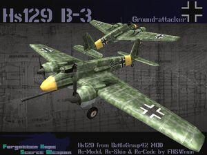 HS129 B-3