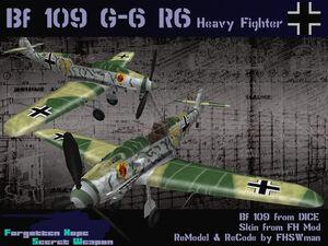 BF109G6R6