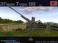 Type 98 20 mm AA gun