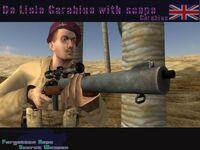 De Lisle carbine Sniper
