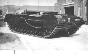 Churchill Kangaroo tank