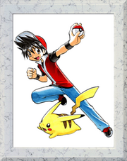 Red Pikachu Pokemon Adventures