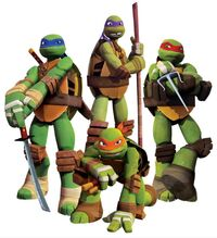 TMNT-2012-Casual-Poses