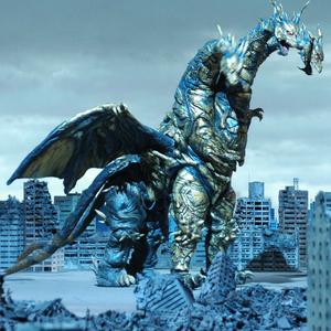 Kaiser Ghidorah Godzilla