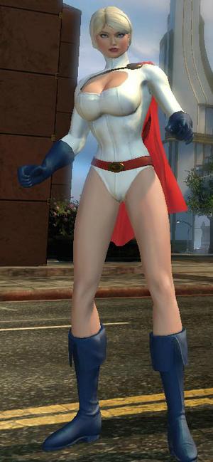 Power Girl DC Universe Online