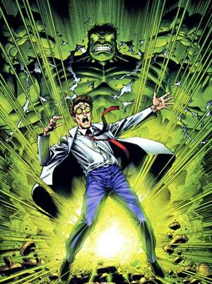 Bruce Banner WW Marvel Comics