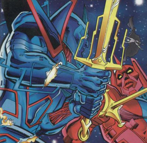 Lord DC Sword Amalgam Comics