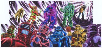 Celestial Race Marvel Comics
